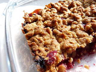 Wiśniowy crumble