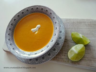 Zupa krem z batatów i imbiru