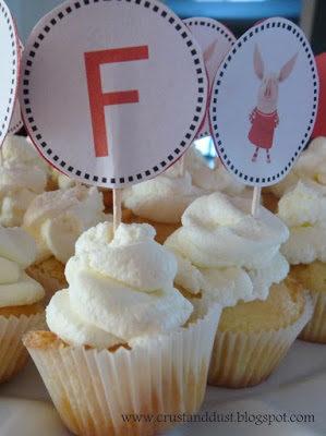 Cupcakes na urodzinowy kinderbal