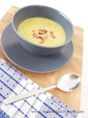 Corn chowder (Kremowa zupa z kukurydzą)