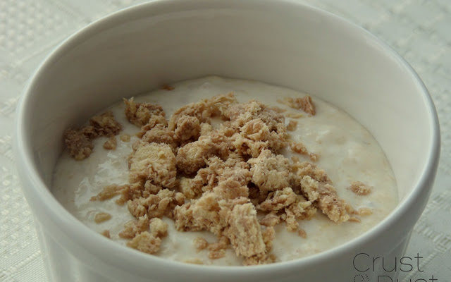 Jogurt grecki z chałwą