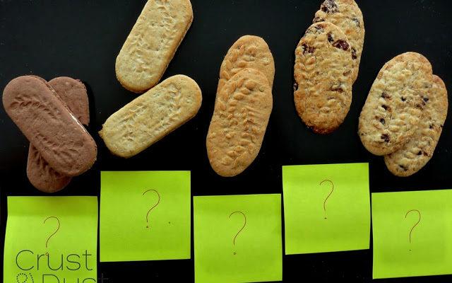 Próbujemy, zgadujemy – jaki smak mają ciastka?
