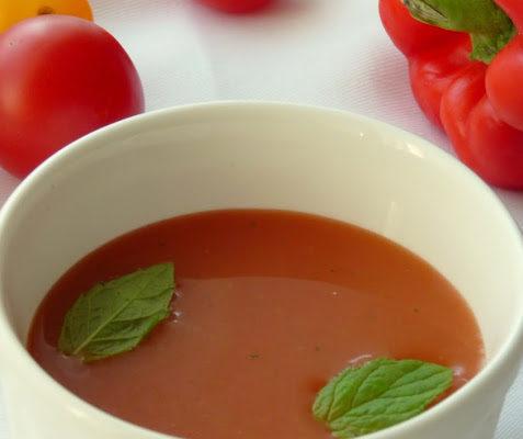 Chłodnik arbuzowo-pomidorowy