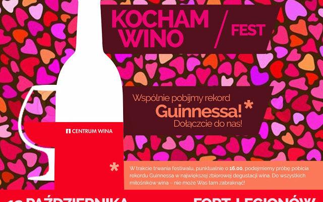 Kocham Wino Fest – wygraj wejściówki!