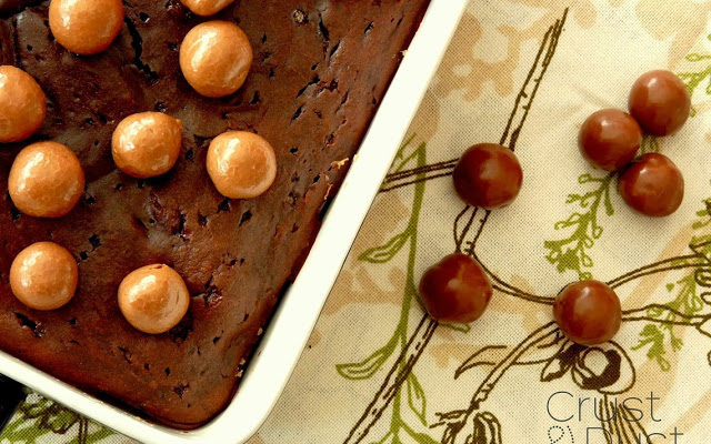 Brownie kawowe z maltesers