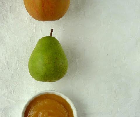 Mus gruszkowo-jabłkowy