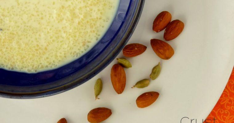 """Khir czyli deser z kaszy bulgur</br>(i wejściówki do Kina Muranów na """"Smak Curry"""")"""