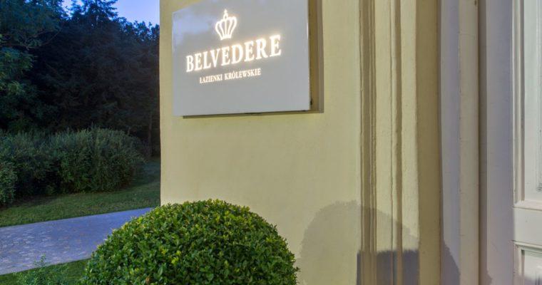 Belvedere – jesień w Łazienkach Królewskich