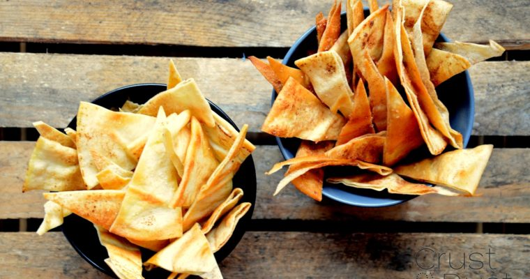 Chipsy z pity – z piekarnika