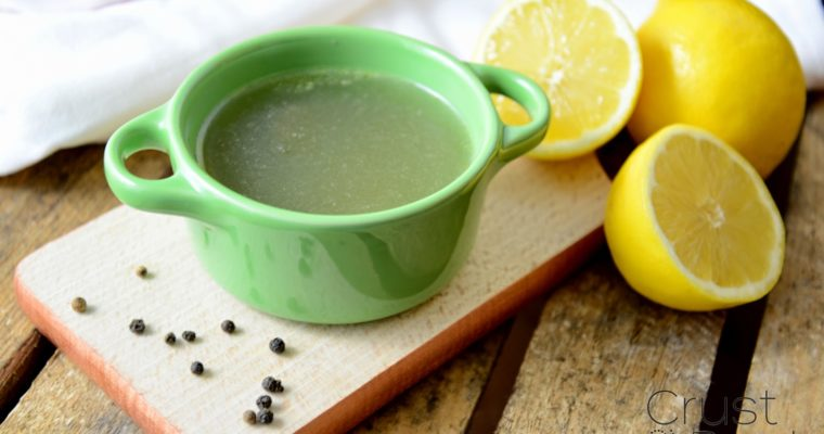 Rosół z cytryną – bez soli