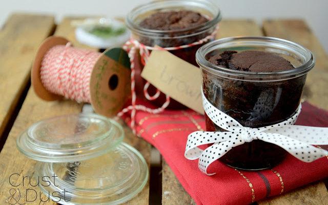 Brownie w słoiku [Jadalne prezenty #15]