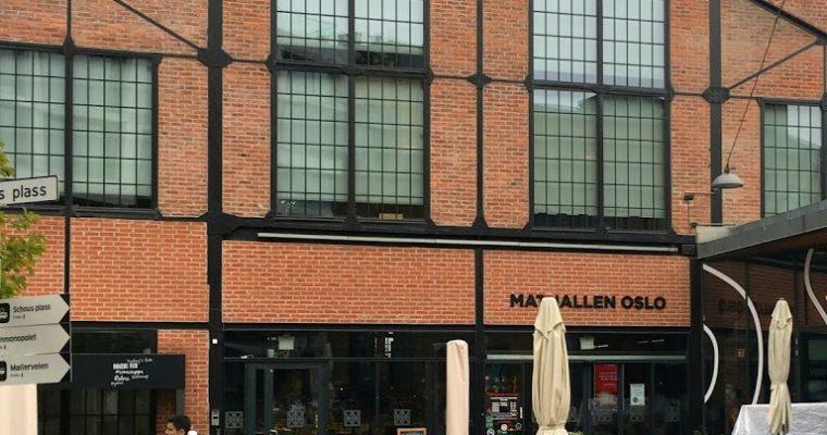 Mathallen, czyli gdzie zjeść w Oslo