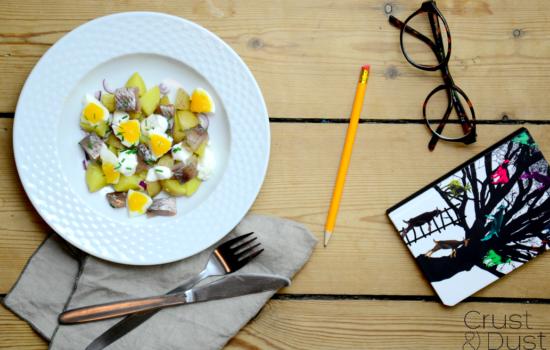 Ziemniaki w soli i matias, czyli najlepszy lunch do pracy