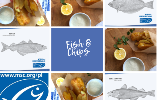 Fish & Chips (i burgery rybne w wersji no-waste)