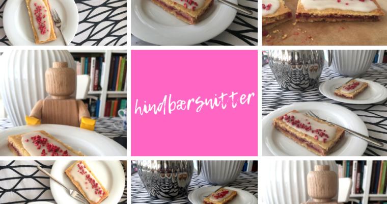 Hindbærsnitter, czyli duńska krajanka z malinami